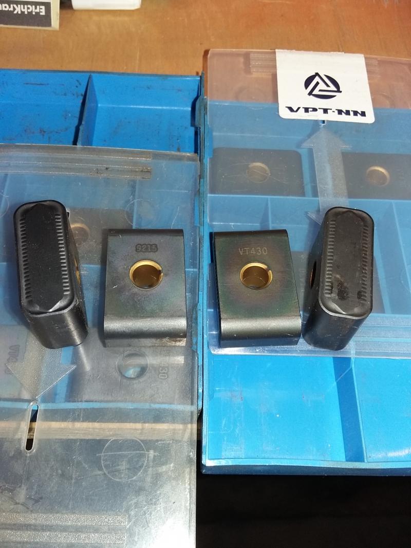 продаю Твердосплавные пластины для ЖД тангенциалние LNUX 301940 PRAVET VT430,91